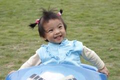Reizendes asiatisches Mädchen Lizenzfreies Stockfoto