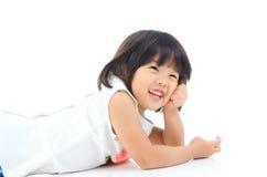 Reizendes asiatisches Mädchen Lizenzfreie Stockbilder