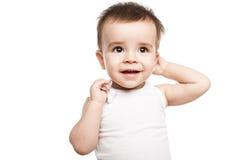 Reizendes Baby stockbilder