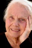 Reizendes großes - Großmutter Lizenzfreies Stockfoto