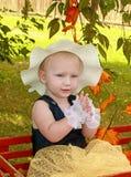 Reizendes kleines Mädchen Stockfotos