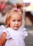 Reizendes Kleinkindmädchen Stockbild