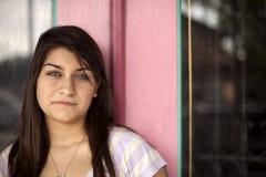 Reizendes Mädchen mit Piercing Augen Lizenzfreies Stockfoto