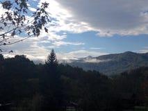 Reizendes Mountain View Stockfotografie