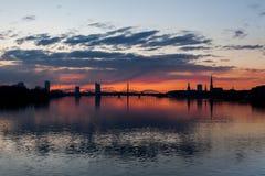 Reizendes Riga stockbild