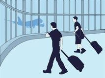 Reizigers Stock Afbeelding