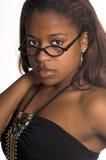 Reizvolle afrikanische Frau Stockbilder