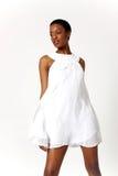 Reizvolle Afroamerikanerfrau Stockbilder