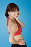 Reizvolle asiatische Frau lizenzfreie stockbilder
