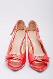 Reizvolle bequeme Schuhe Stockfotos