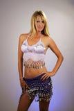 Reizvolle blonde Bauchtänzerin (2) Lizenzfreie Stockfotos