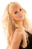 Reizvolle blonde Frau Stockfotos