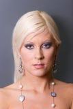 Reizvolle blonde Frau Lizenzfreies Stockbild