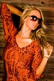 Reizvolle Blondine Lizenzfreies Stockbild