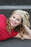Reizvolle Blondine Lizenzfreie Stockbilder