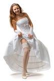 Reizvolle Braut Stockbild