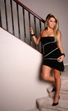 Reizvolle Brunettefrau 24 stockfotografie