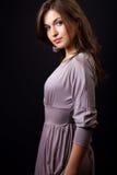 Reizvolle elegante junge dünne Frau lizenzfreies stockfoto