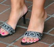 Reizvolle Füße Lizenzfreie Stockfotos