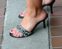 Reizvolle Füße stockbilder