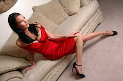 Reizvolle Frau lizenzfreie stockfotografie
