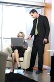 Reizvolle Geschäftsfrau Stockfotografie