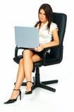 Reizvolle Geschäftsfrau Lizenzfreies Stockfoto