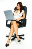 Reizvolle Geschäftsfrau lizenzfreie stockfotografie