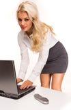 Reizvolle Geschäftsfrauen Stockfoto