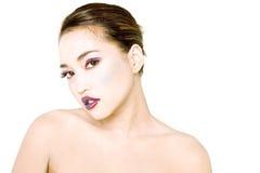 Reizvolle junge asiatische Frau Stockfotografie