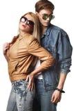 Reizvolle junge Paare Stockfoto
