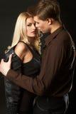 Reizvolle junge Paare Lizenzfreie Stockbilder