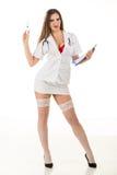 Reizvolle Krankenschwester Stockbild