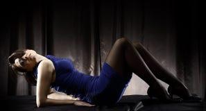 Reizvolle lateinische Frau Lizenzfreies Stockfoto