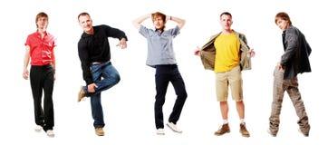 Reizvolle Männer Stockfoto