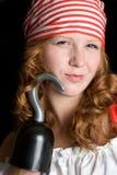 Reizvolle Piraten-Frau Stockbilder