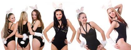 Reizvolle playgirls Stockbild