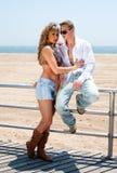Reizvolle romantische Paare Lizenzfreie Stockfotos