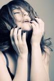 Reizvolle schöne Frau Lizenzfreies Stockfoto