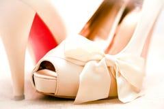 Reizvolle Schuhe Stockfotos