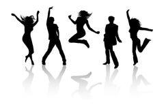 Reizvolle Tanzenabbildungen Stockfotos
