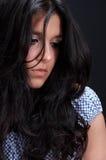 Reizvoller arabischer Brunette Stockfotografie