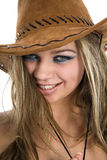 Reizvoller Cowboy Lizenzfreies Stockfoto