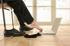 Reizvoller Fuß Stockfoto