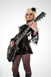 Reizvoller Gitarrenspieler Lizenzfreies Stockfoto