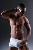 Reizvoller Mann in der Unterwäsche. Lizenzfreie Stockbilder