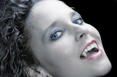 Reizvoller Vampir Stockfotografie