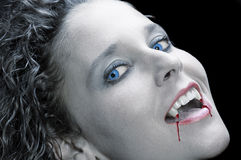 Reizvoller Vampir Lizenzfreies Stockbild