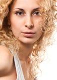 Reizvolles blondes Lizenzfreie Stockfotografie
