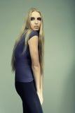 Reizvolles blondes Lizenzfreie Stockfotos